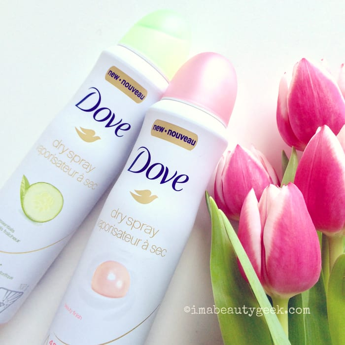 Dove Beauty Finish Spray: DOVE DRY SPRAY ANTIPERSPIRANT: KARLIE KLOSS ISN'T THE ONLY