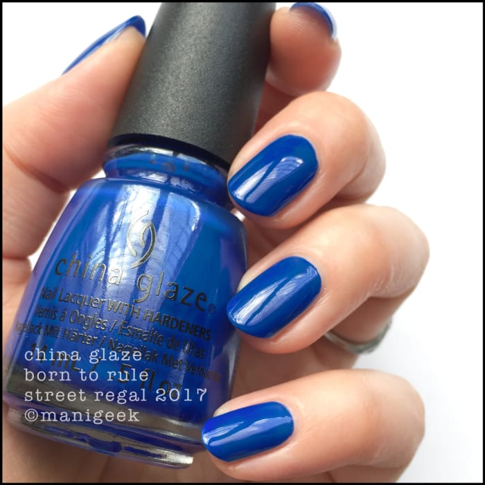 China Glaze Street Regal Fall 2017 Collection Swatches Amp Review Beautygeeks