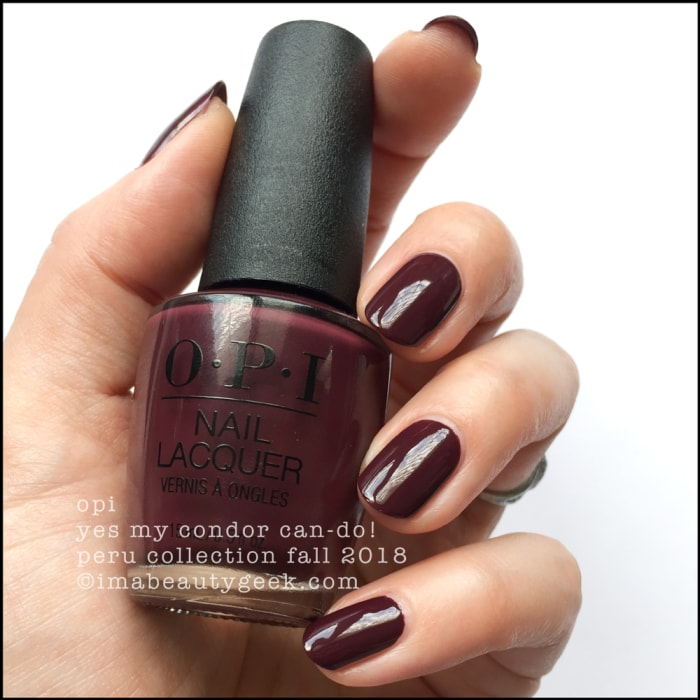 OPI PERU COLLECTION SWATCHES & REVIEW FALL 2018