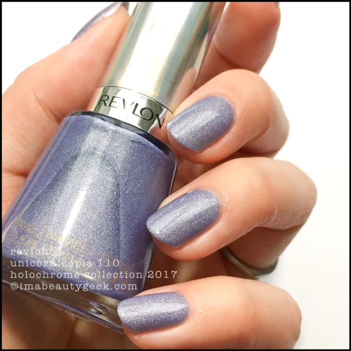 Revlon Holochrome Nail Polish Collection Swatches Beautygeeks