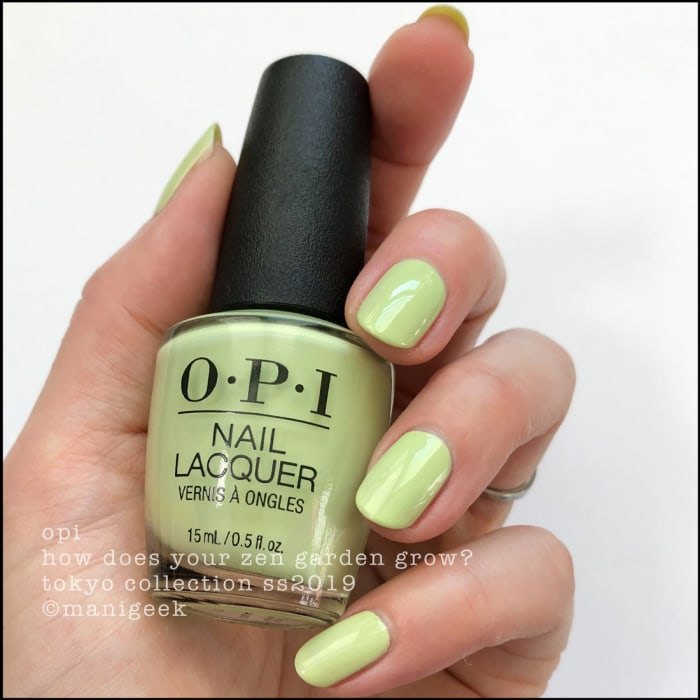 What Does A Zen Garden Do: OPI TOKYO COLLECTION SWATCHES & REVIEW SS2019