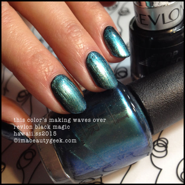 Revlon Black Magic: OPI HAWAII SPRING/SUMMER 2015: THE FIRST SWATCHES