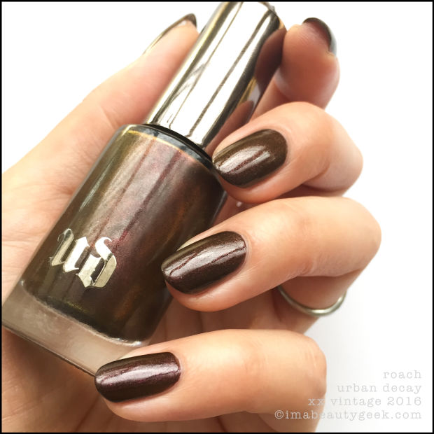 URBAN DECAY XX VINTAGE NAIL POLISH COLLECTION SWATCHES U0026 REVIEW - Beautygeeks