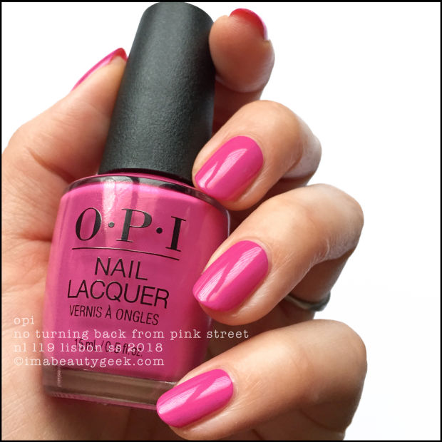 OPI LISBON COLLECTION SWATCHES & REVIEW SS 2018