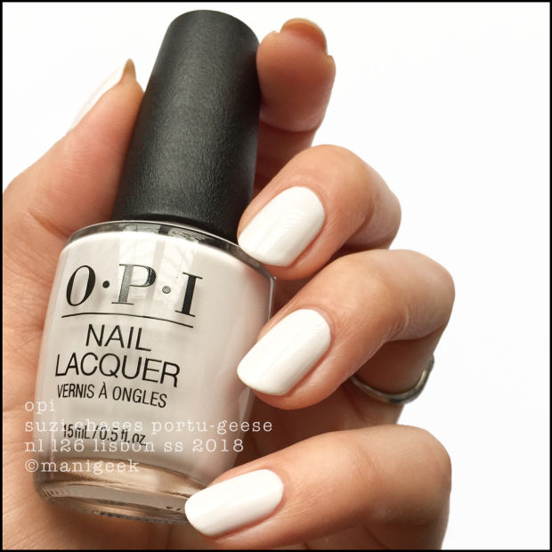 Nail Polish Colors Spring 2018 Opi: OPI LISBON COLLECTION SWATCHES & REVIEW SS 2018