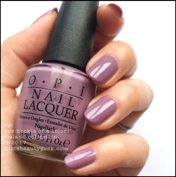 Nail Polish Colors Spring 2018 Opi: OPI ICELAND SWATCHES AND REVIEW FW 2017 COLLECTION