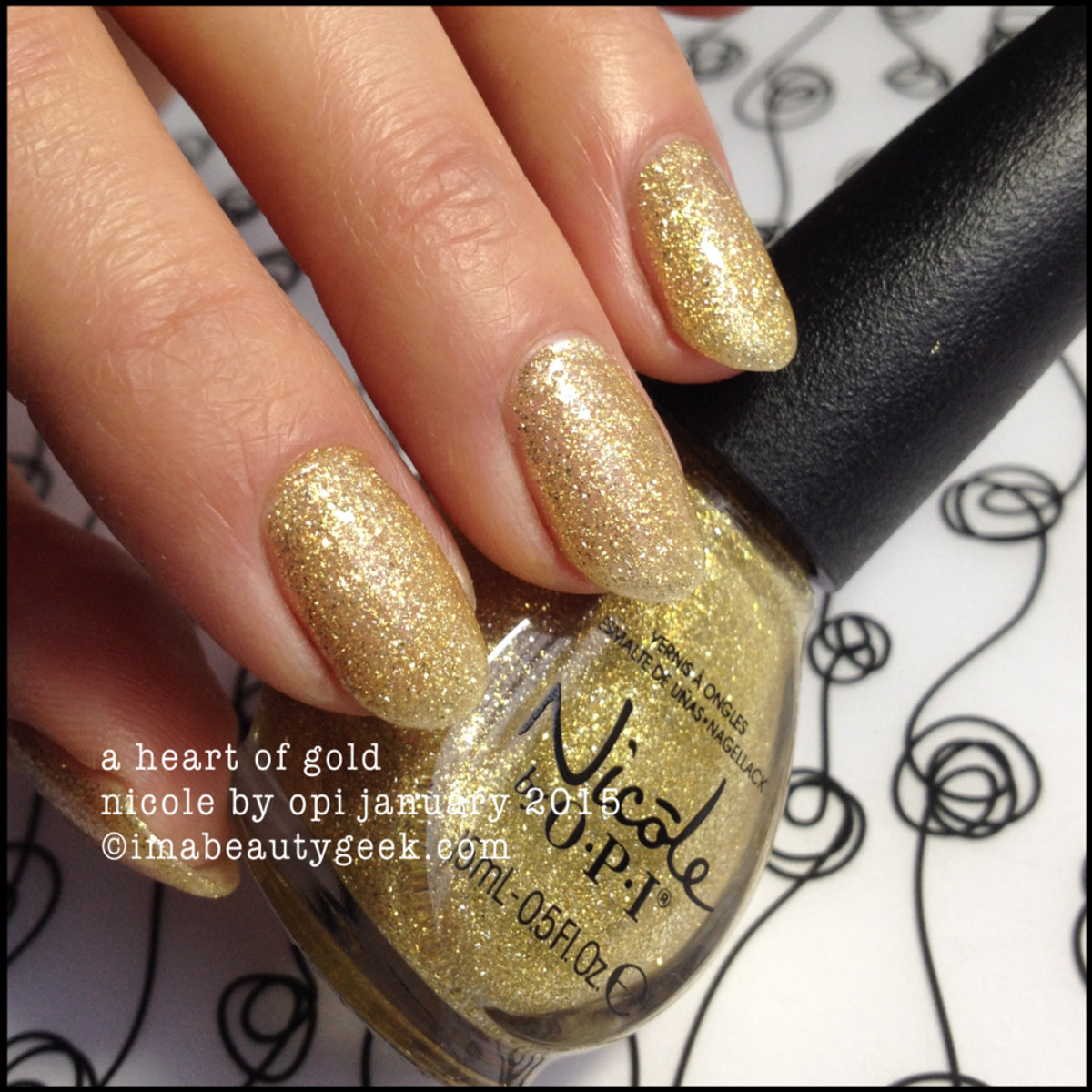 Nicole by OPI A Heart of Gold