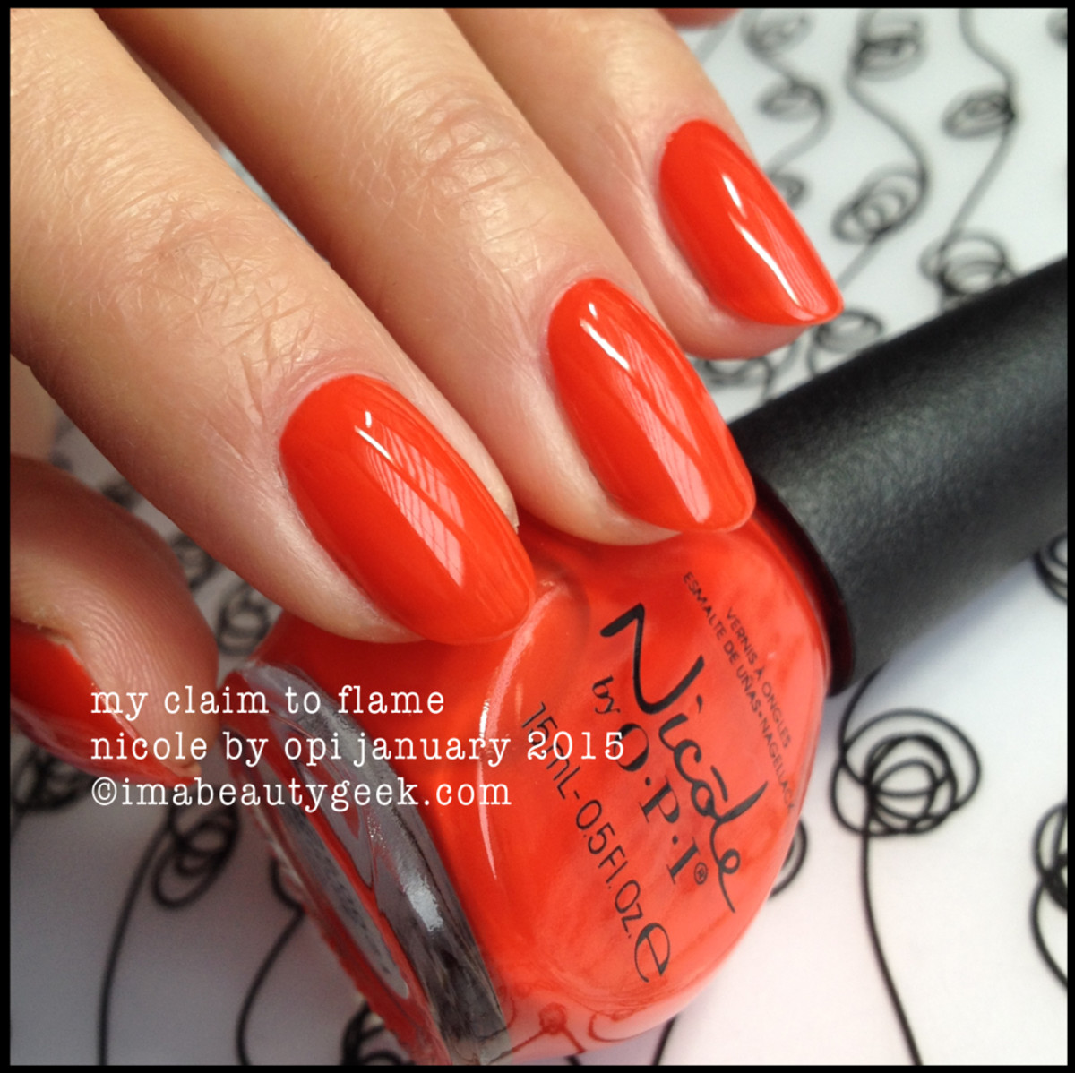 Nicole by OPI Claim to Flame