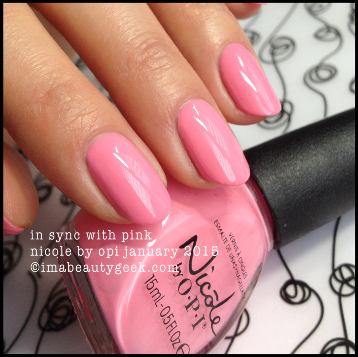 Nicole by OPI In Sync with Pink