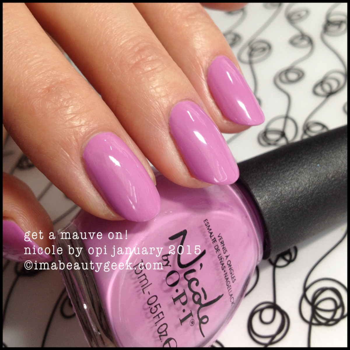 Nicole by OPI Get a Mauve On!