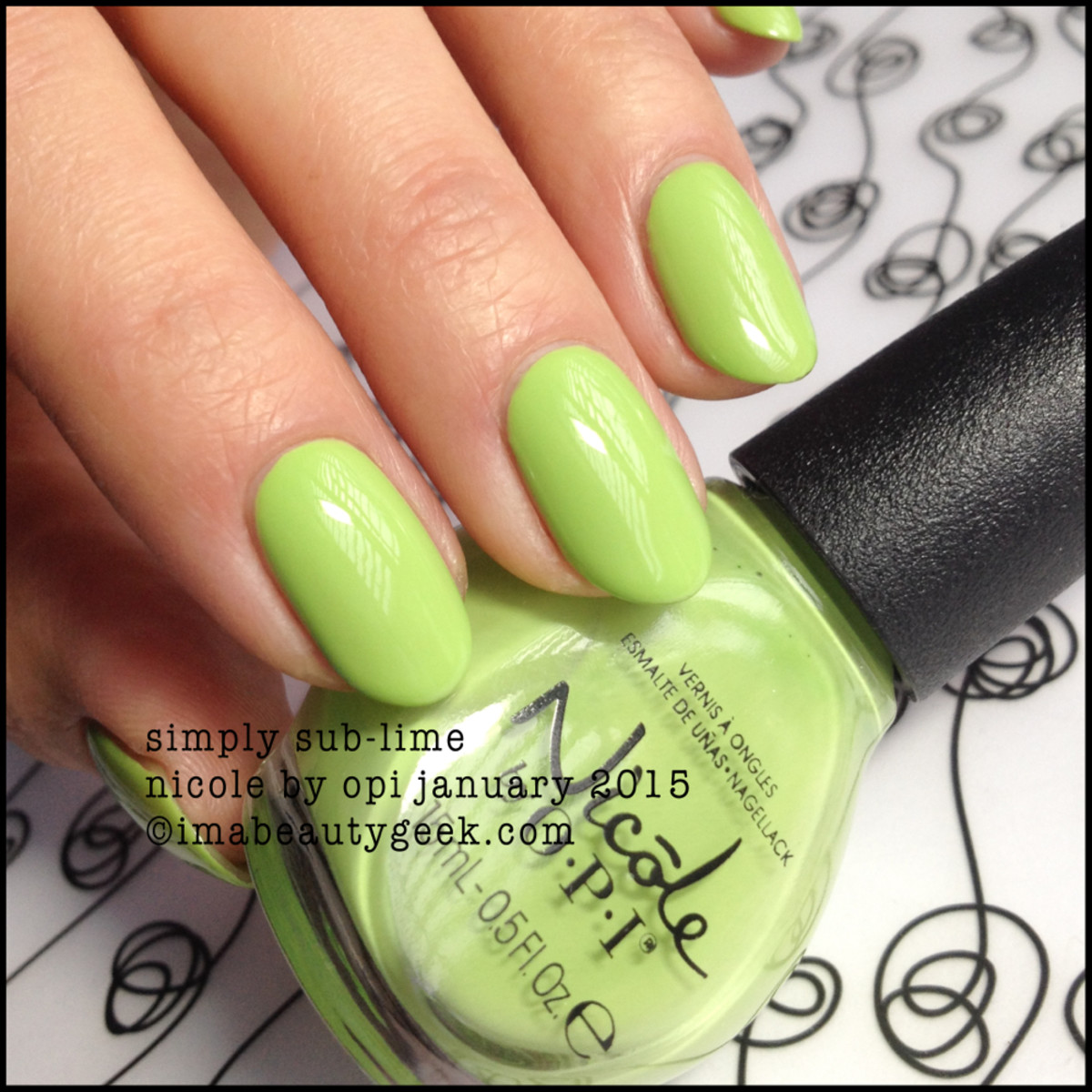 Nicole by OPI Simply Sub-Lime