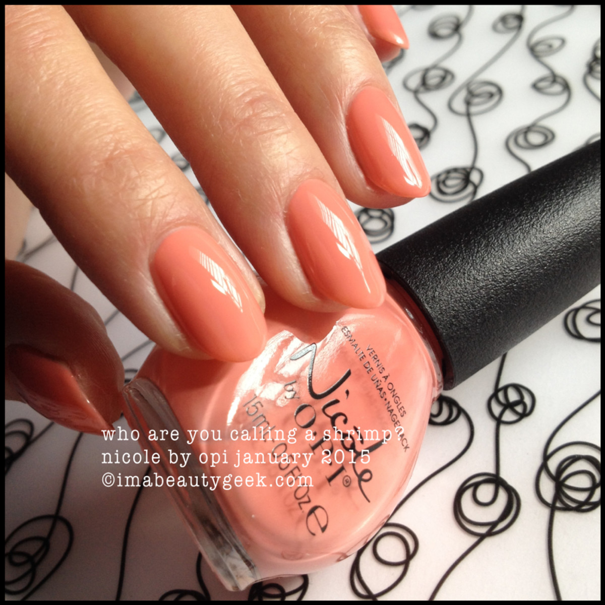 Nicole by OPI Who Are You Calling a Shrimp?