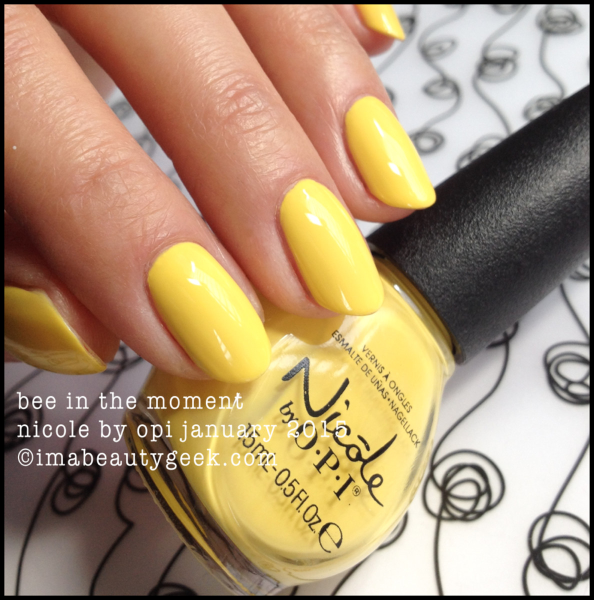 Nicole by OPI Bee in the Moment