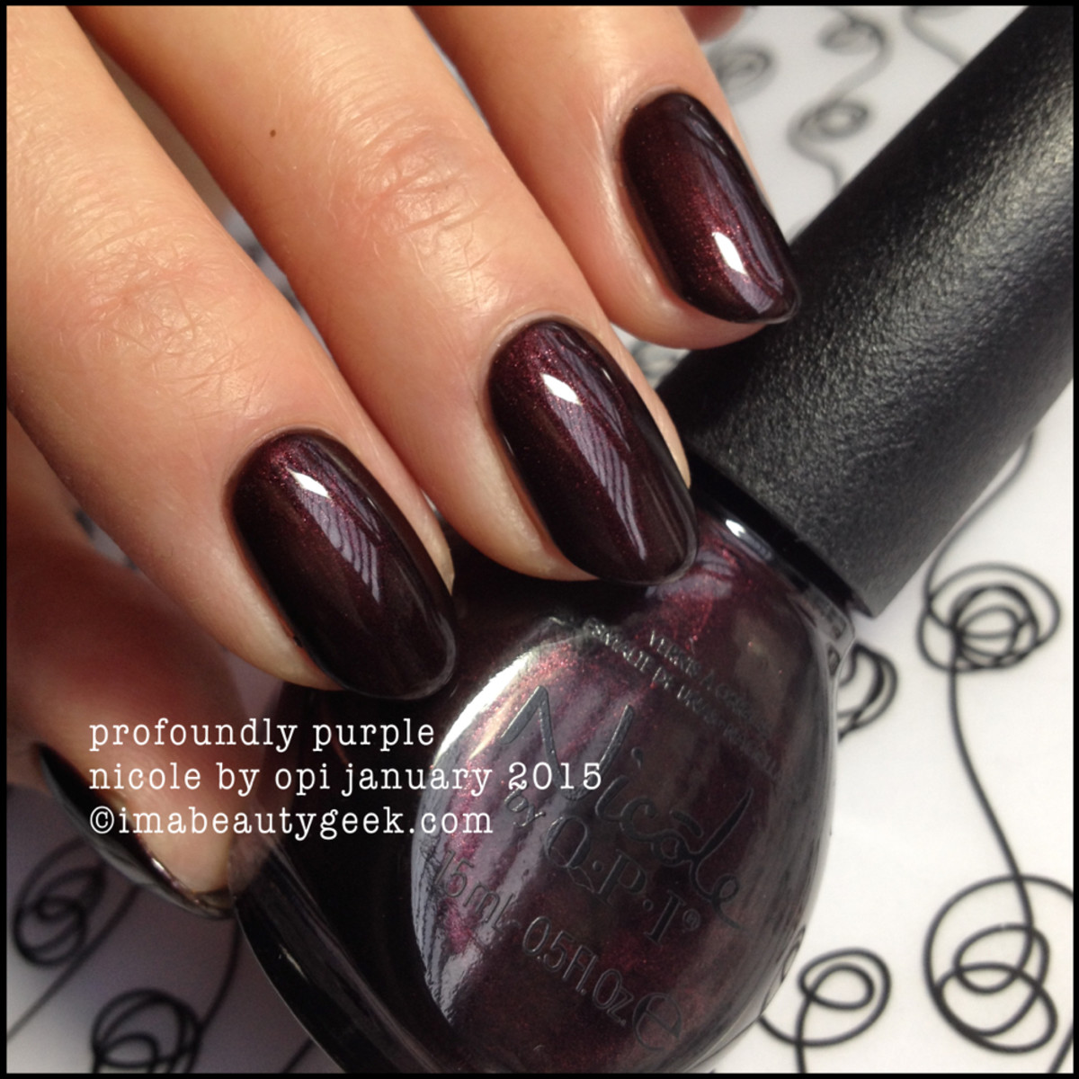 Nicole by OPI Profoundly Purple