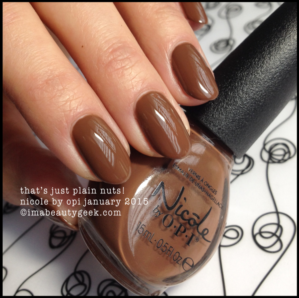 Nicole by OPI That's Just Plain Nuts!