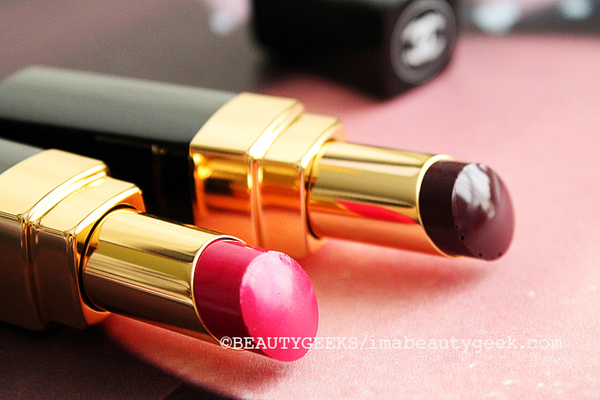 CHANEL FALL 2014 MAKEUP_Chanel Rouge Coco Shine Viva_and_Aura