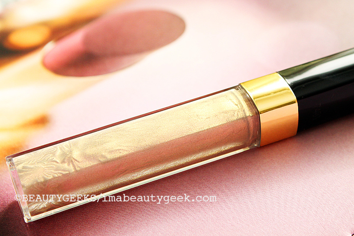 CHANEL FALL 2014 MAKEUP_Chanel Songe 191 Glossimer lipgloss