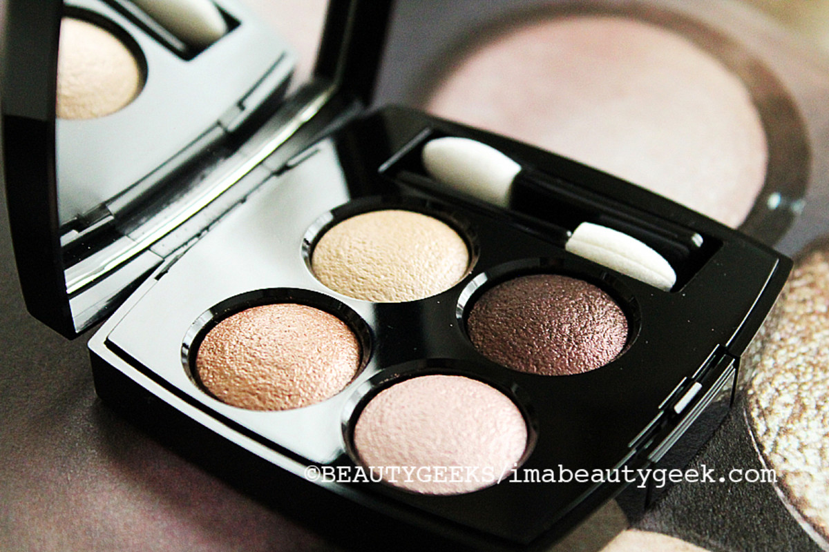 CHANEL FALL 2014 MAKEUP_Chanel Poesie eyeshadow quad
