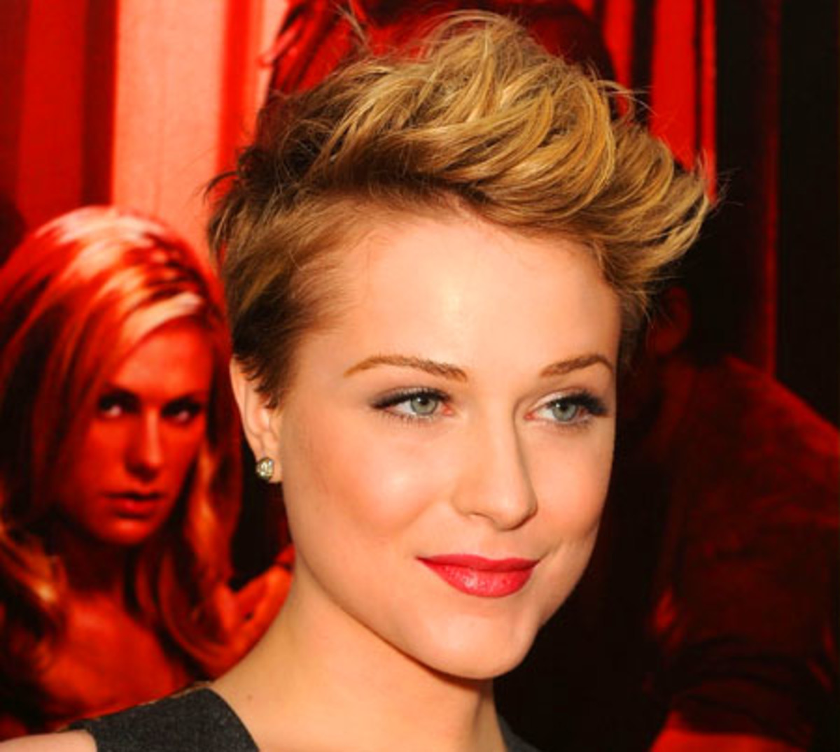 Evan Rachel Wood cuts her hair