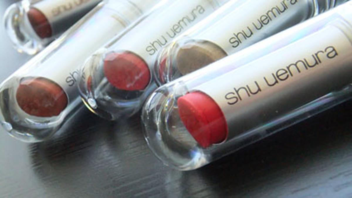 Shu Uemura Rouge Unlimited Supreme Matte Lipsticks