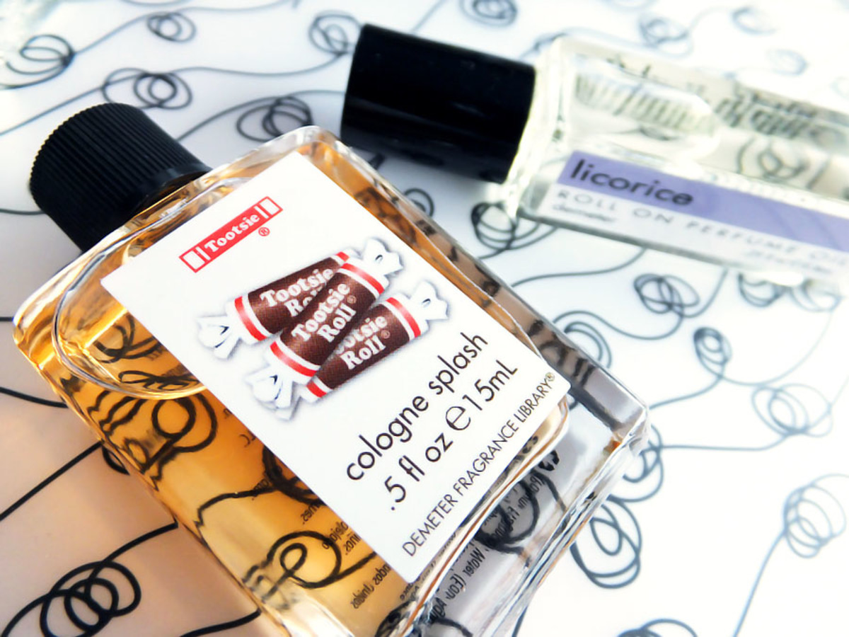 Halloween perfume Demeter Tootsie Roll Cologne_Demeter Licorice Roll-On Perfume