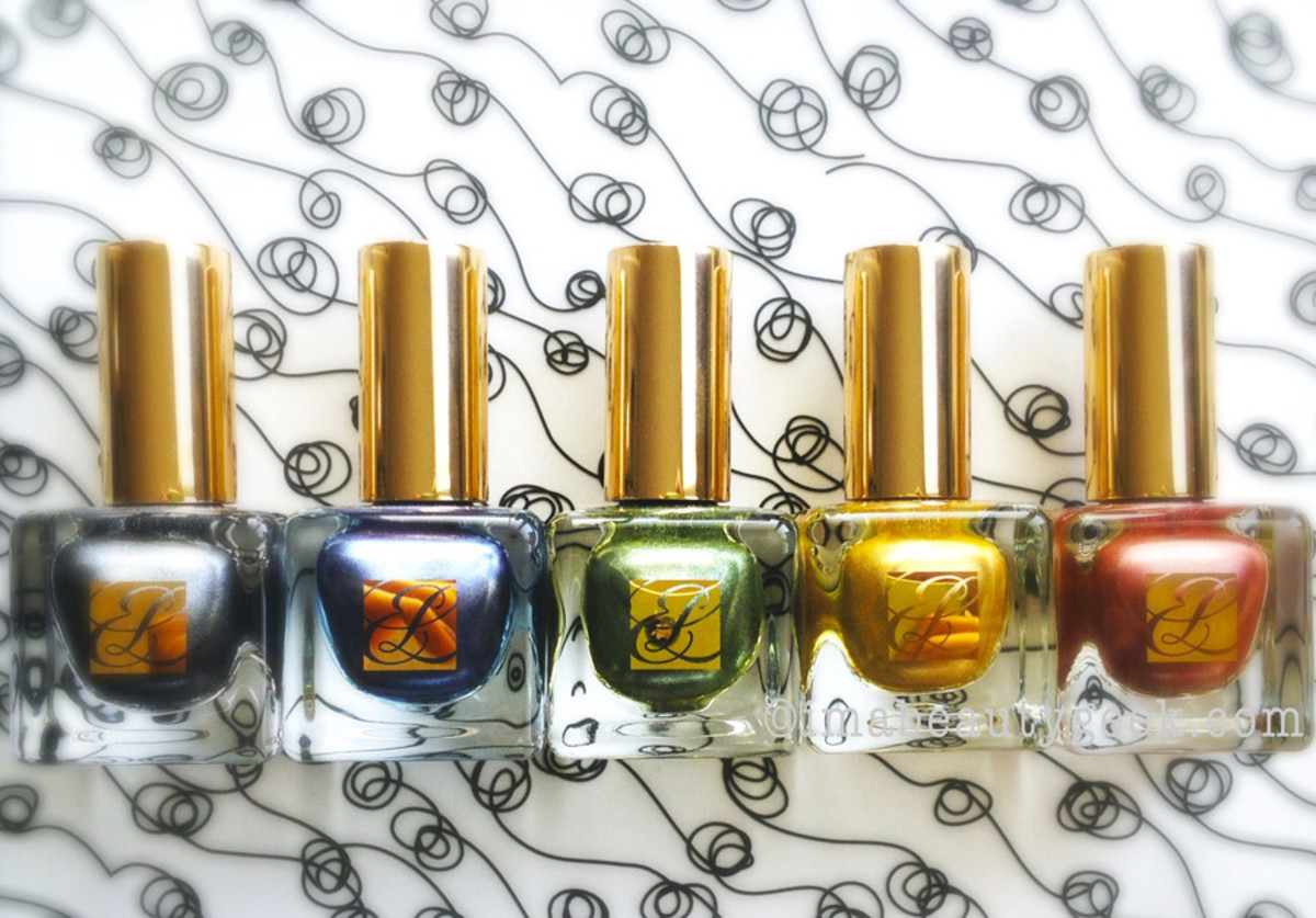 Estee Lauder The Metallics Nail Collection