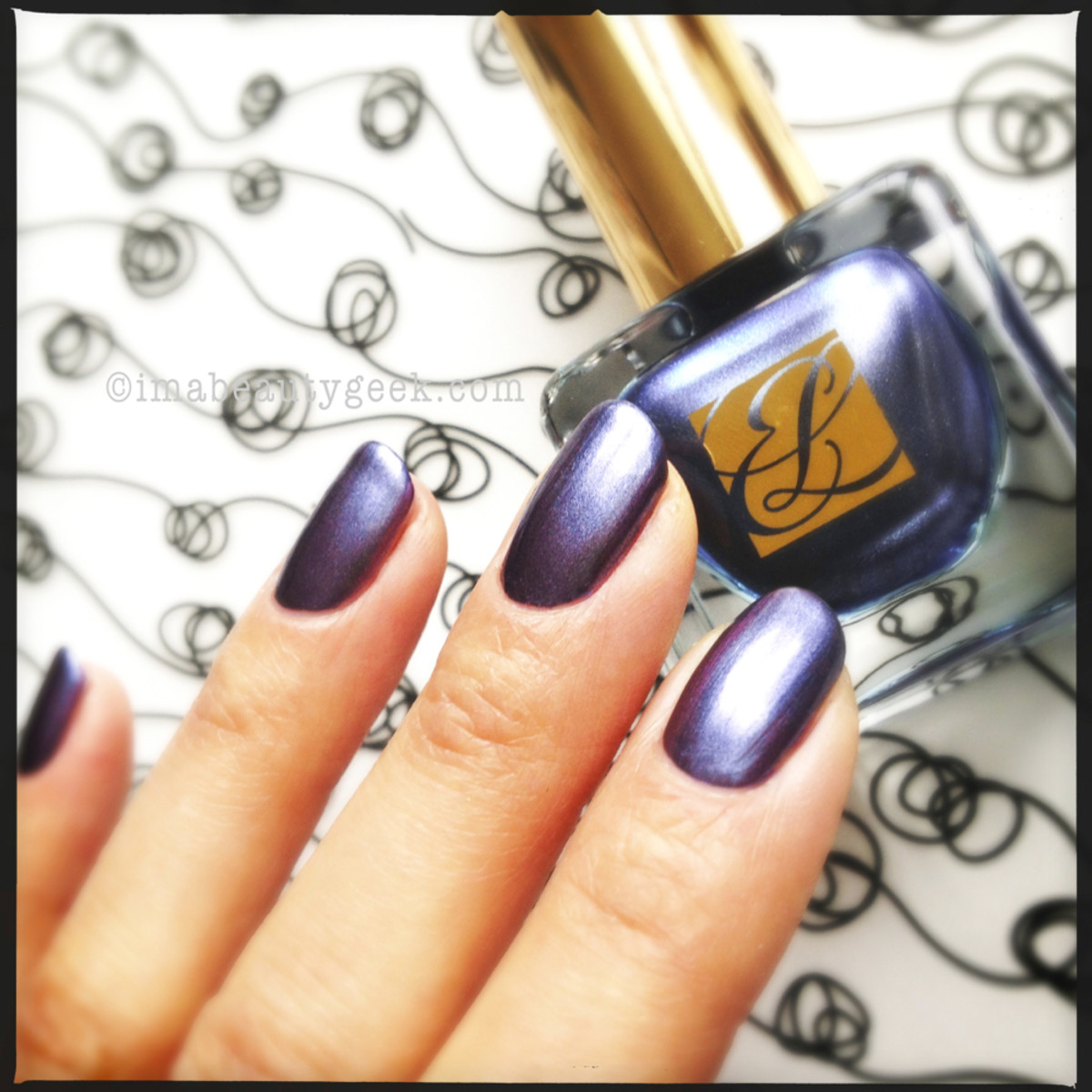 Estee Lauder Chrome Violet Metallics Collection 2013