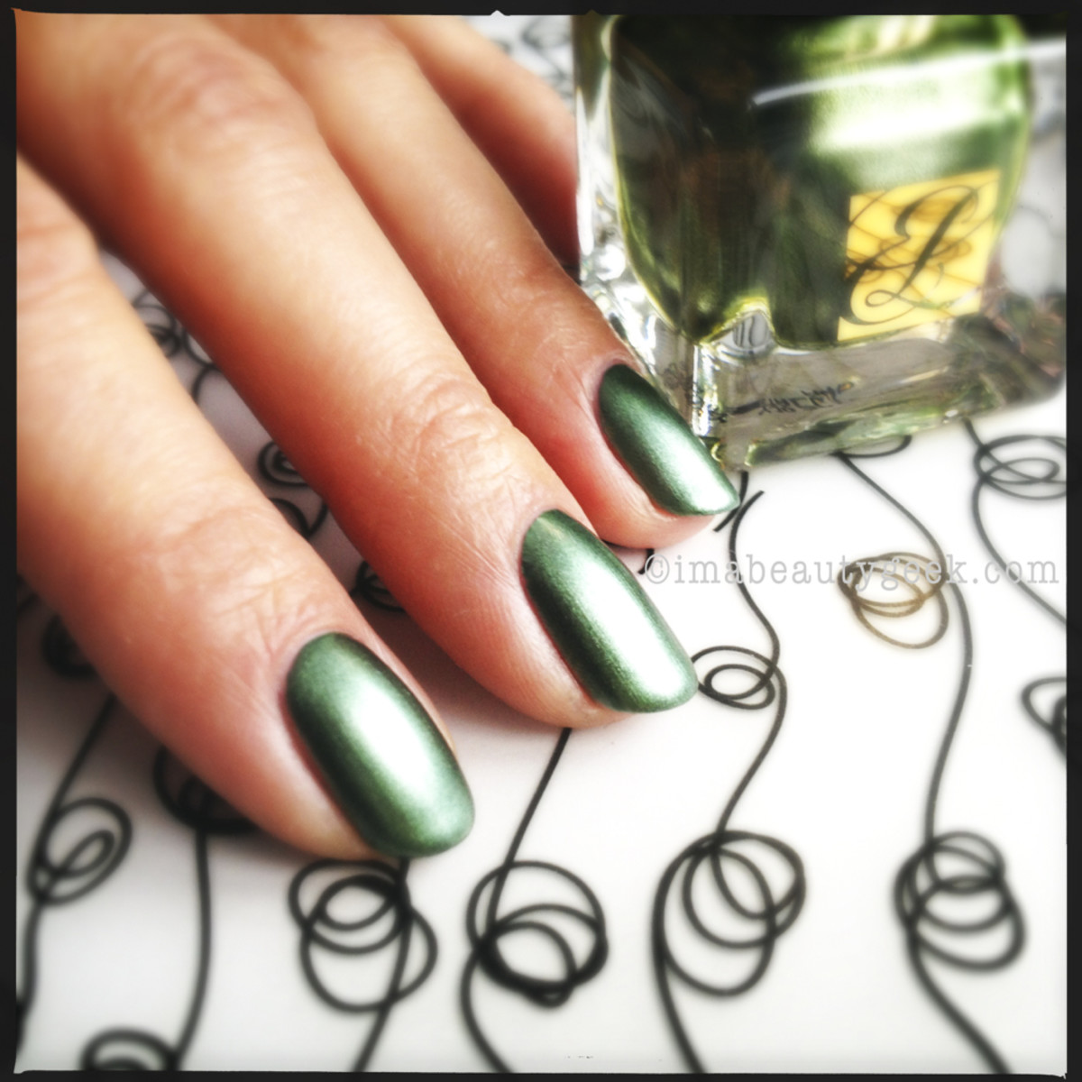 Estee Lauder Metallic Green Metallics Collection 2013