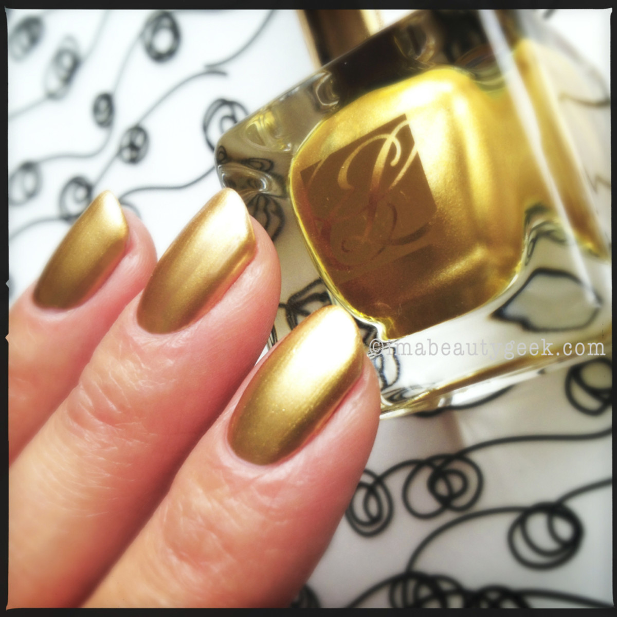 Estee Lauder Brushed Gold Metallics Collection