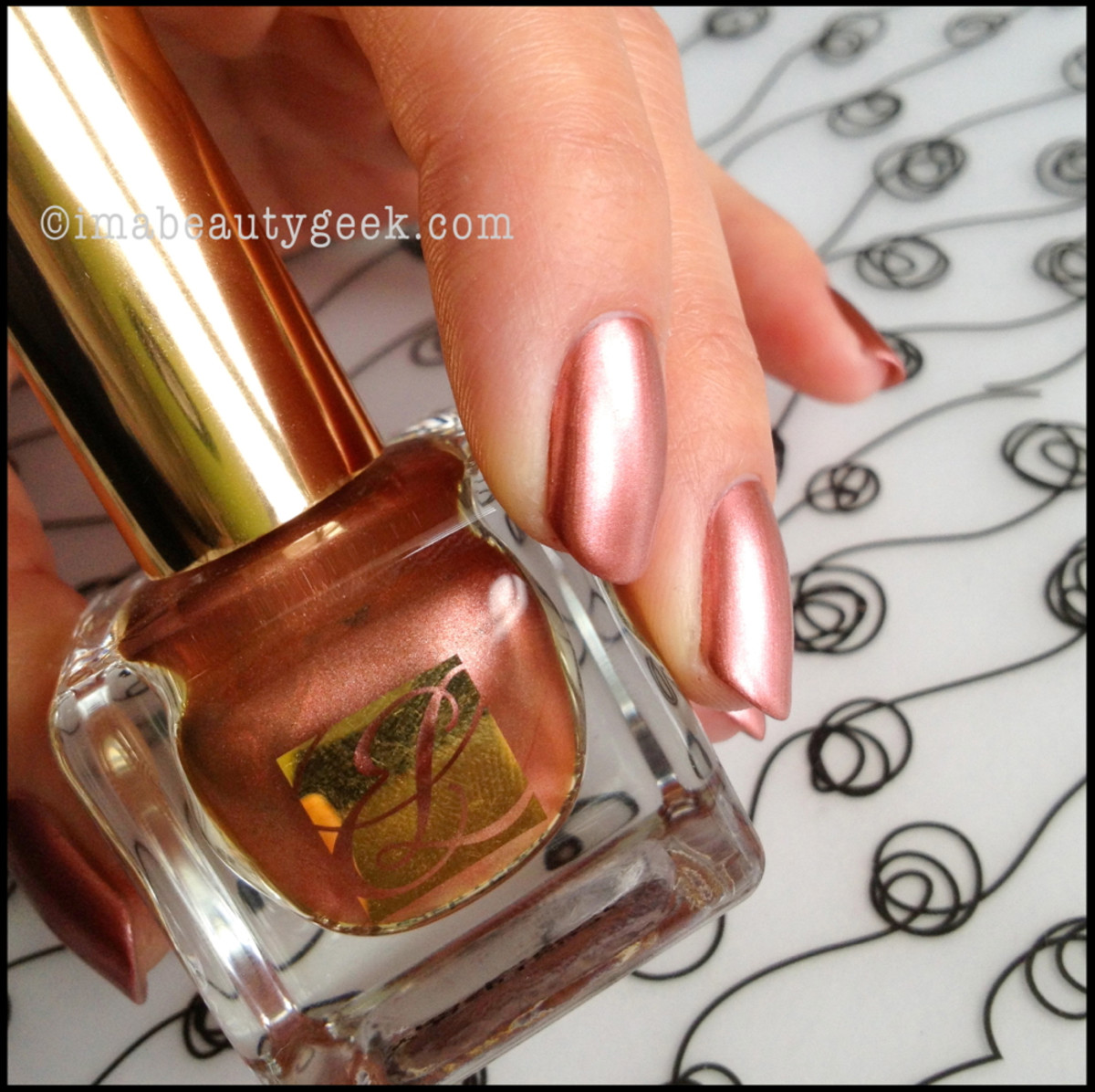 Estee Lauder Rose Gold Metallics Collection 2013