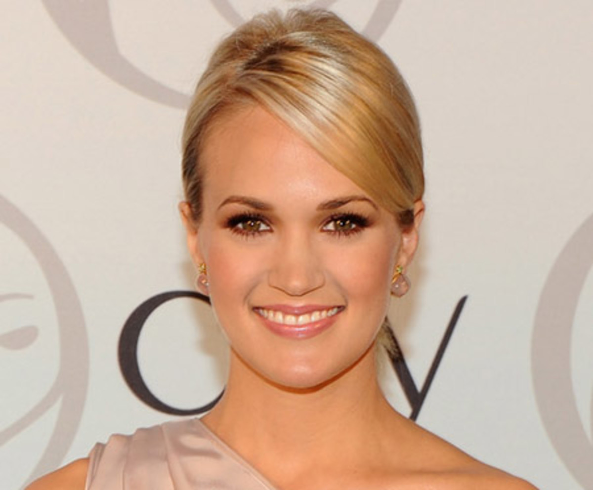 A Little Bit Country Carrie Underwood New Celeb Ambassador For Olay
