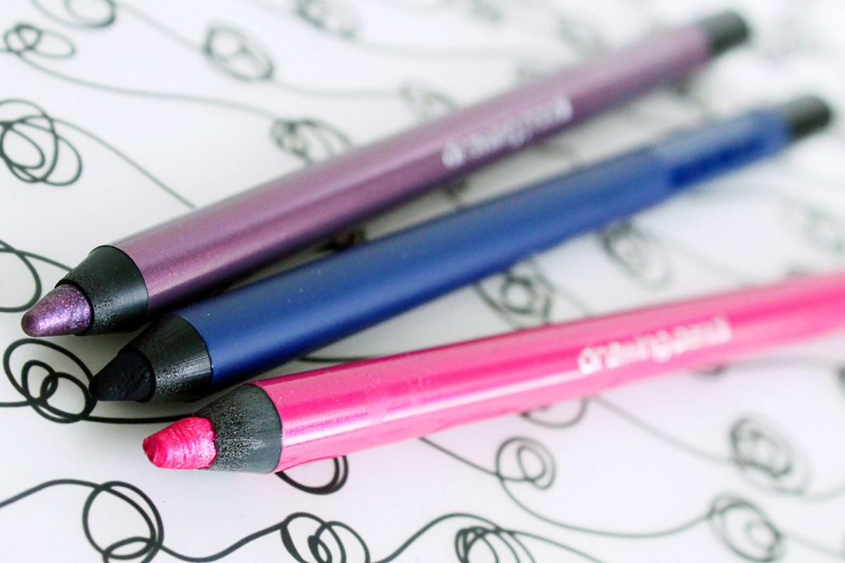 pink eyeliner_Shu Uemura drawing pencils