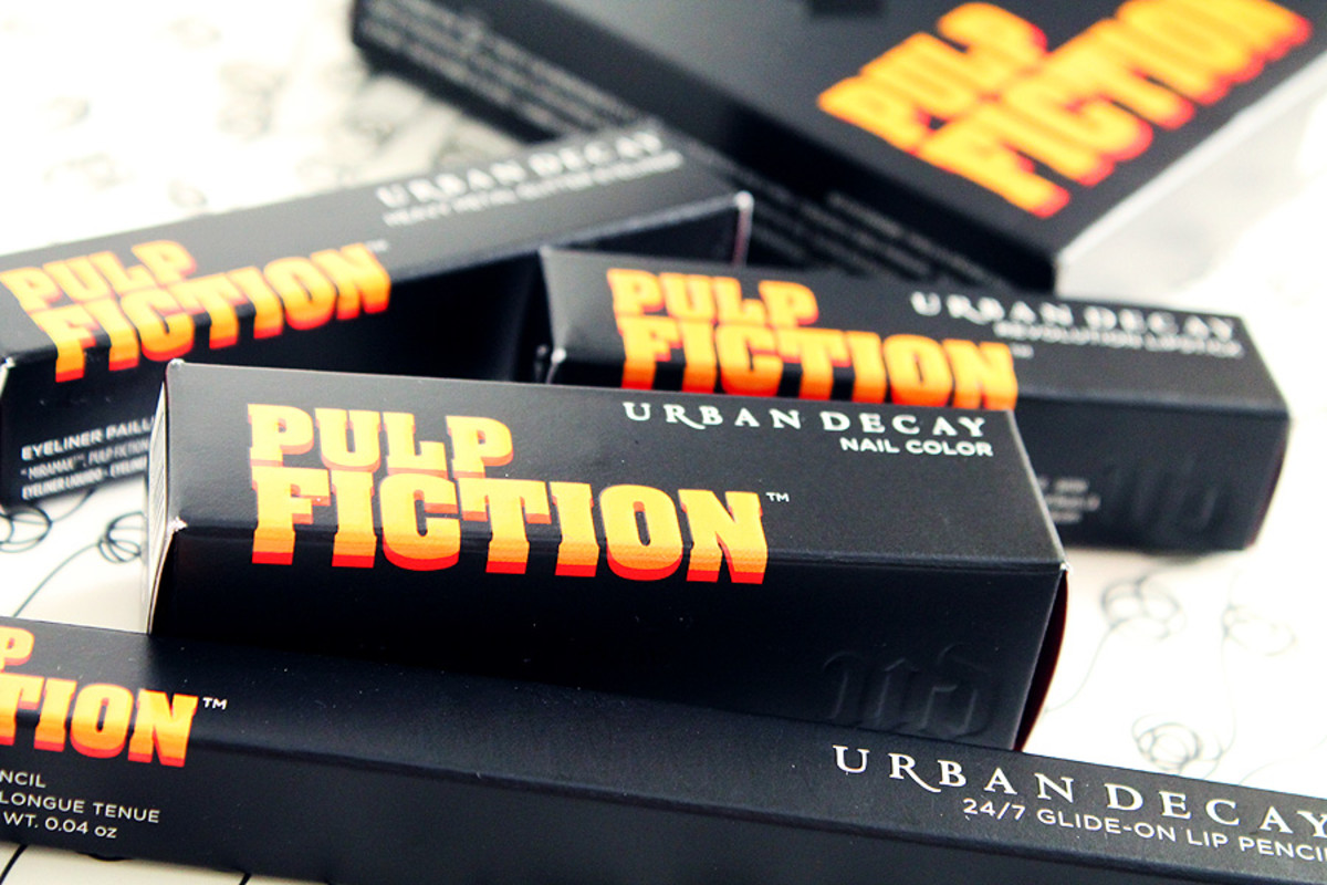Urban Decay Pulp Fiction Fall 2014 collection