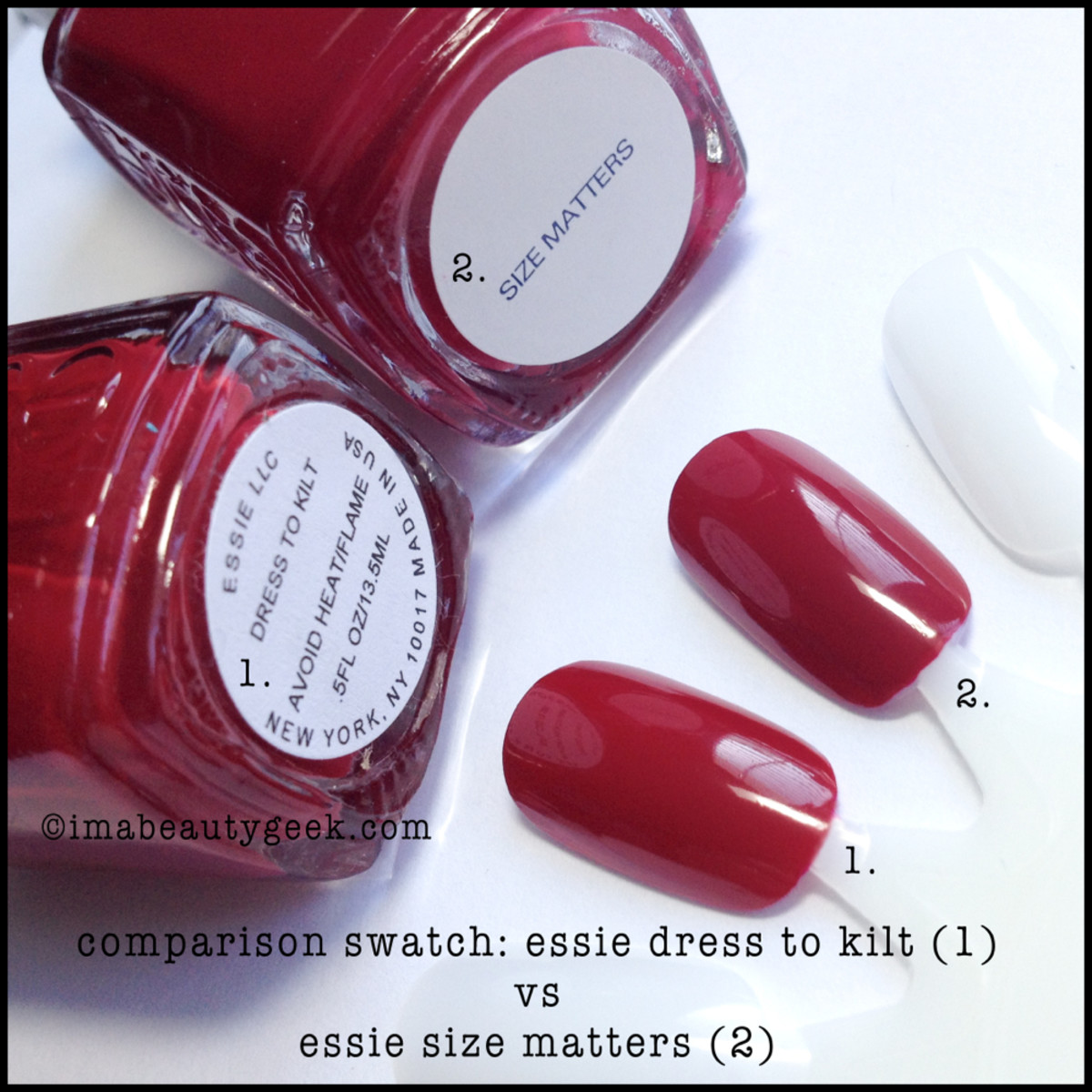 Essie Fall 2014: Dress to Kilt Swatches - Beautygeeks