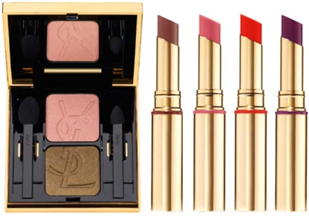 YSL Spring 2010 Ombres Duo No27 and Gloss Voluptes 5 to 8