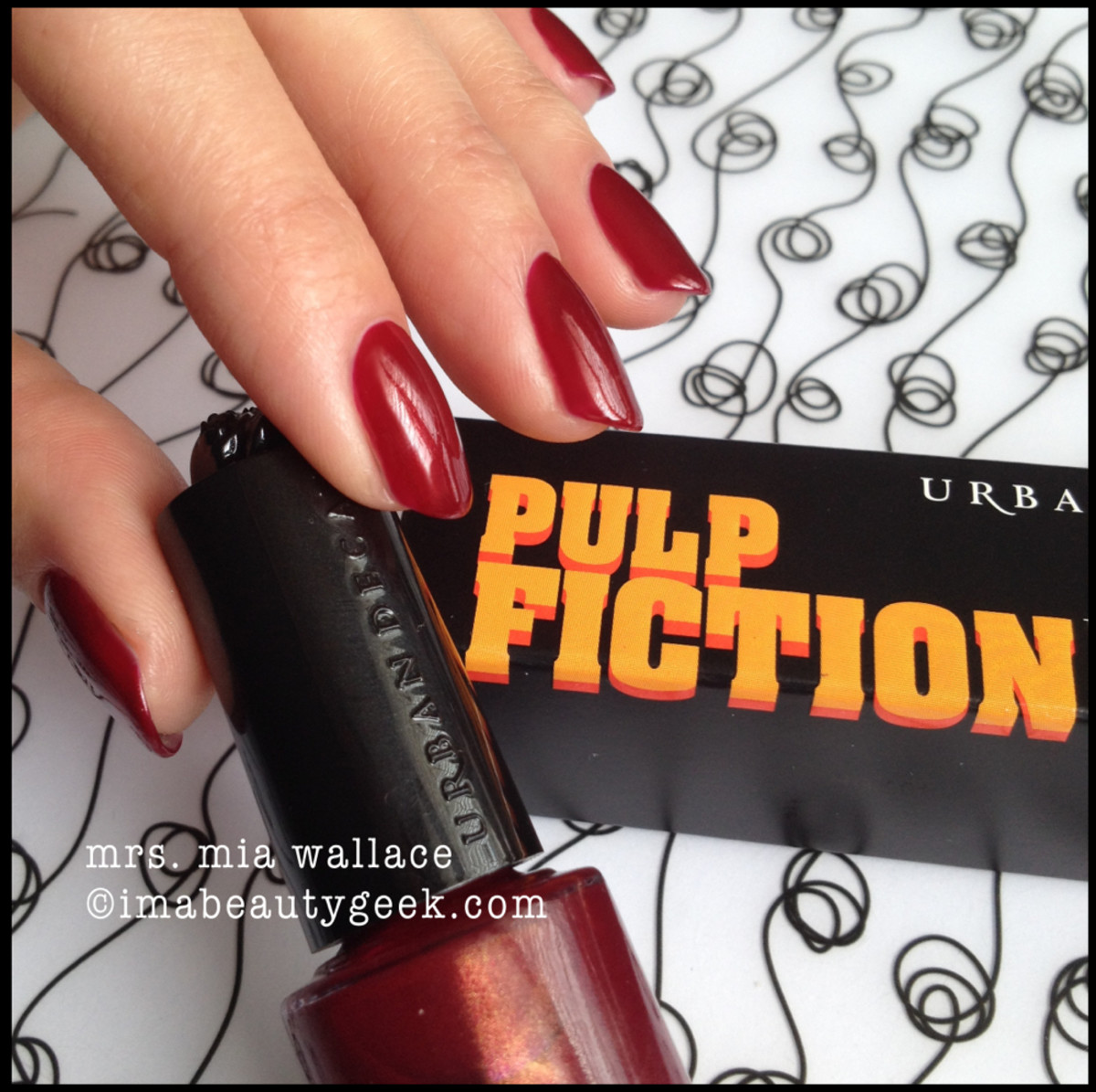 Urban Decay Pulp Fiction Mrs Mia Wallace
