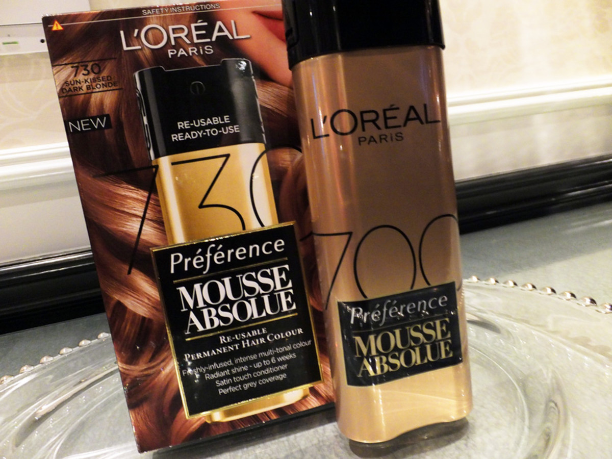 LOreal Paris Preference Mousse Absolue Re-Useable Permanent Hair Colour