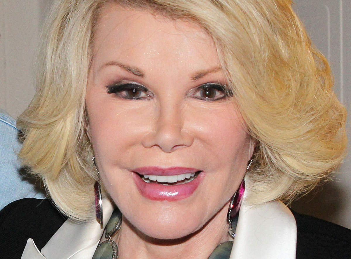 Joan Rivers 2013_Getty images