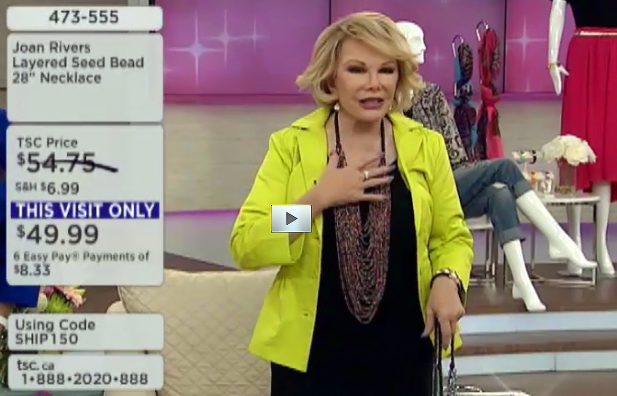Joan Rivers_The Shopping Channel_June 21 2014