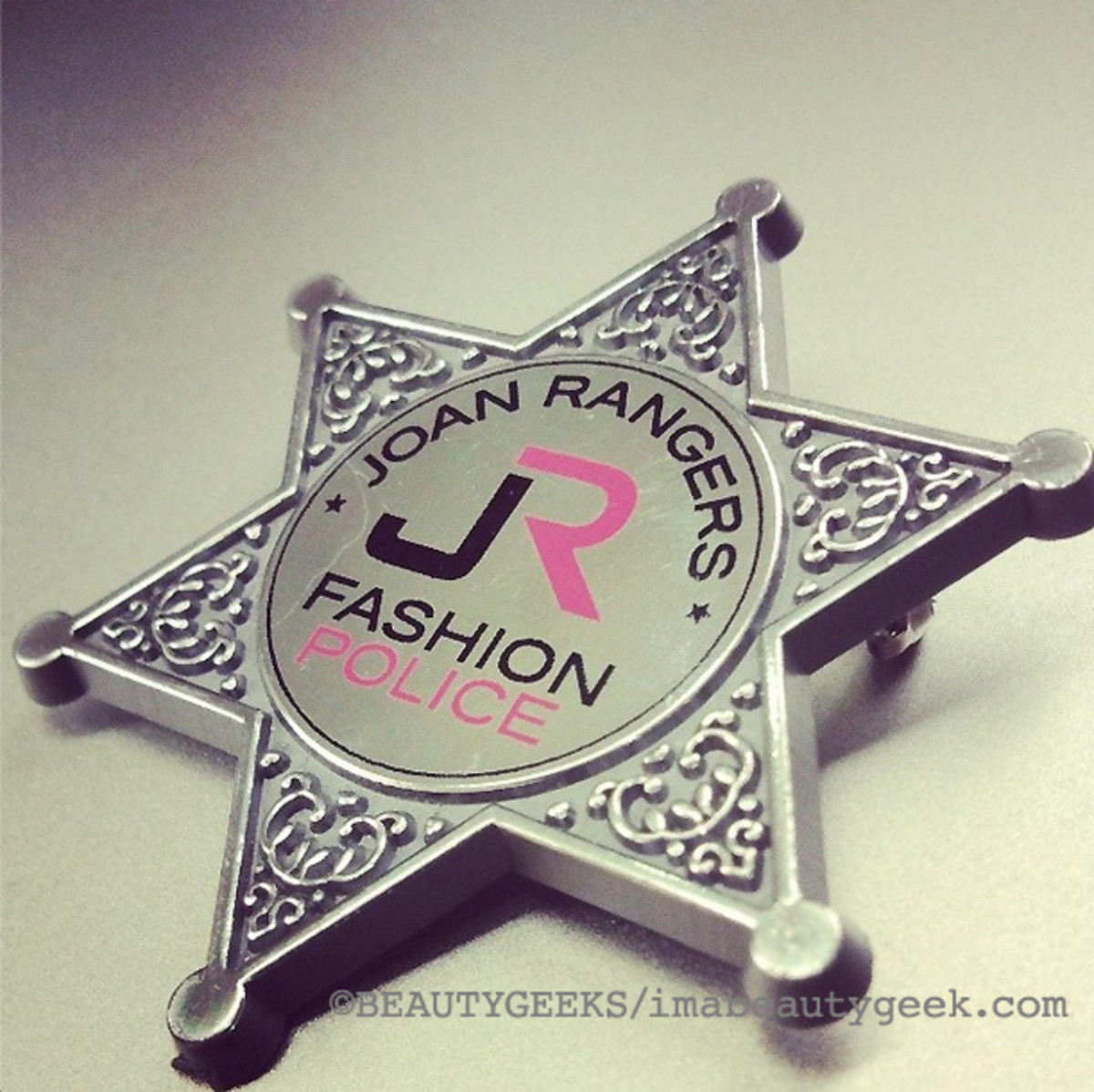 Joan Rangers_Fashion Police pin