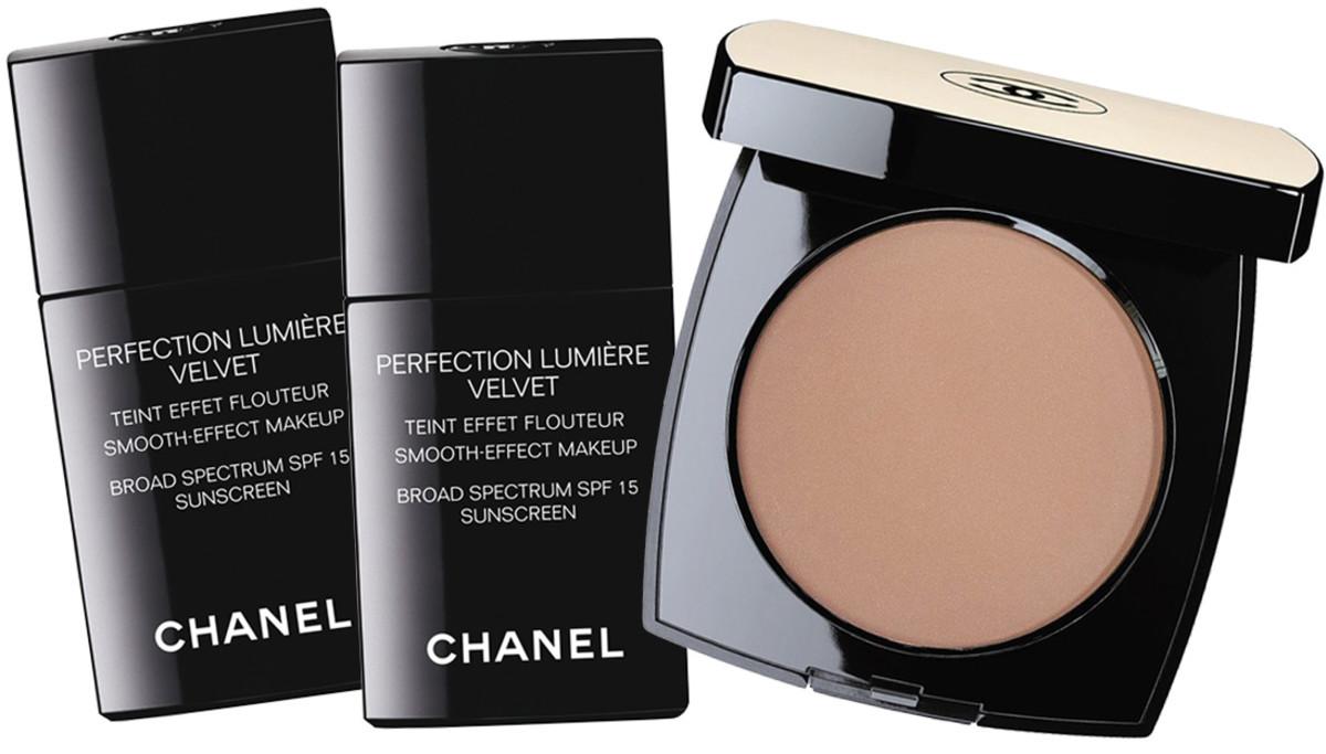 Jennifer Aniston TIFF 2014_Chanel Perfection Lumiere Velvet_Chanel Les Beiges