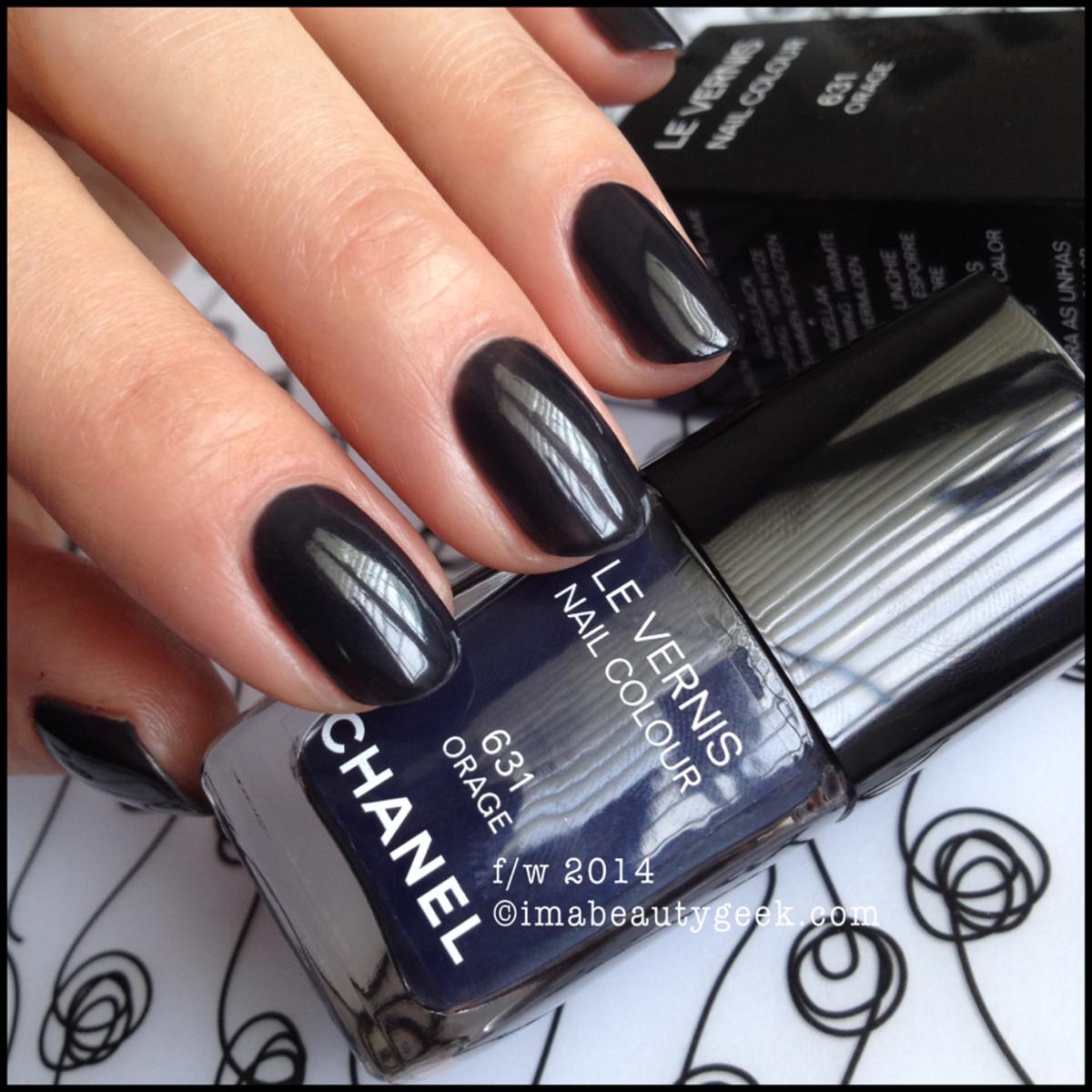Chanel Orage 631 fw2014 beautygeeks