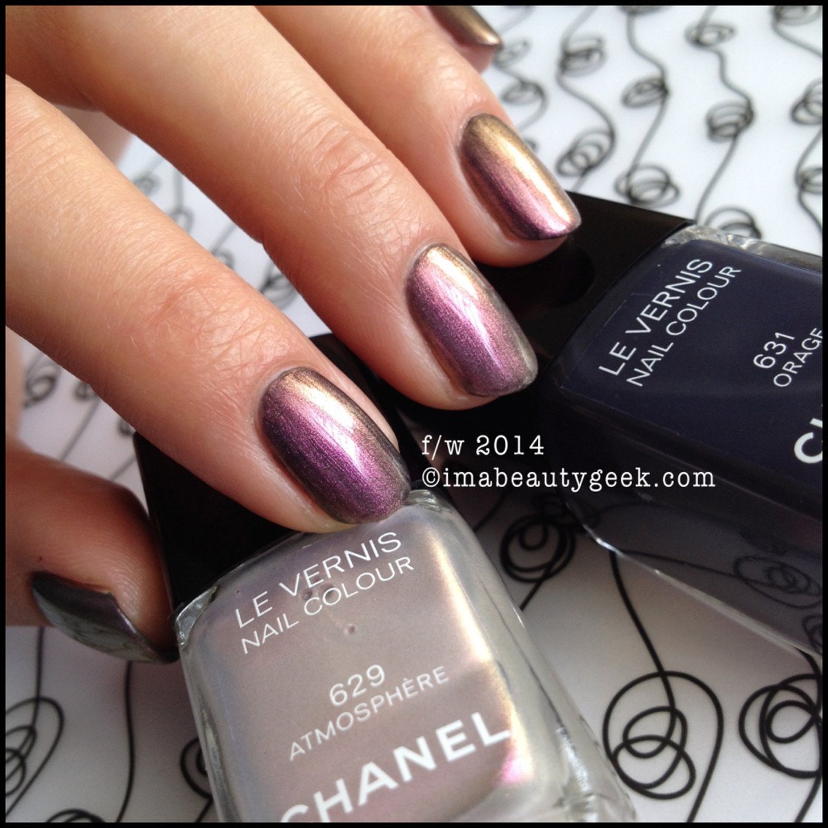 Chanel Atmosphere 629 w Chanel Orage 631 beautygeeks