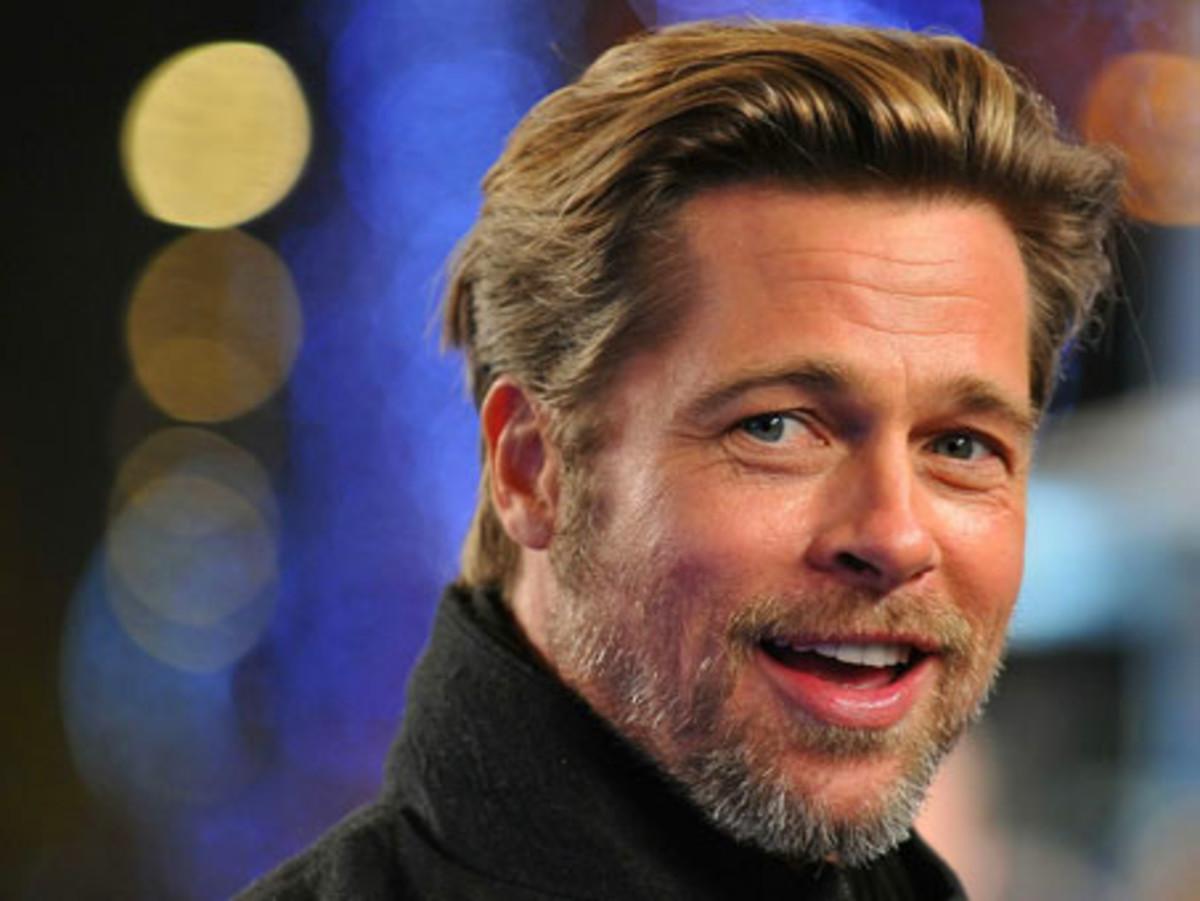 Bearded Brad Pitt
