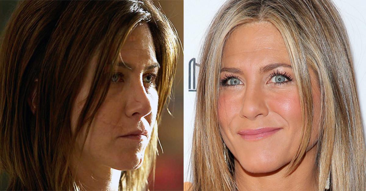 Jennifer Aniston TIFF 2014_Cake and red carpet makeup