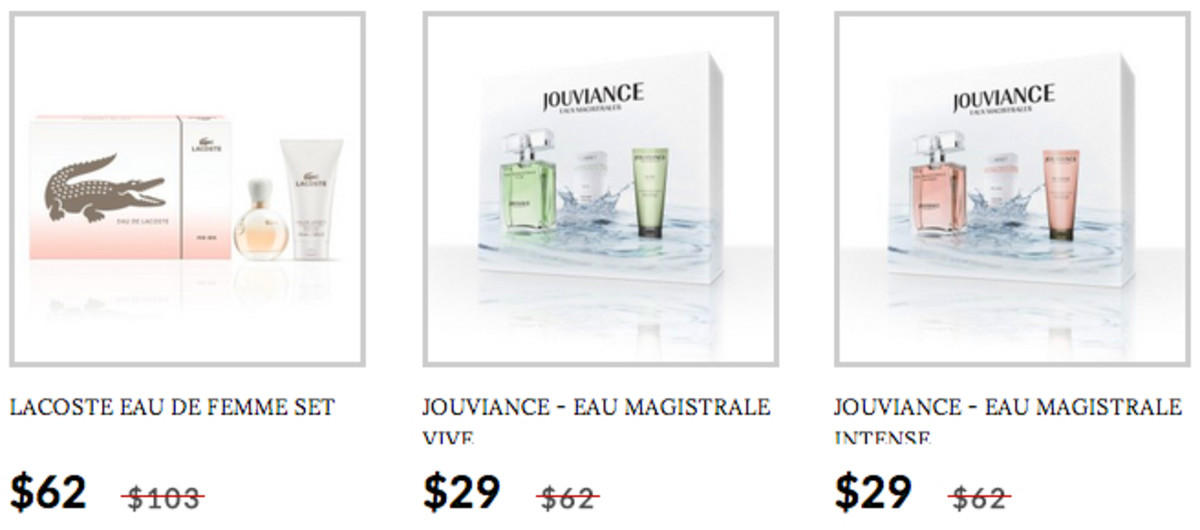 Scarlet & Julia Fragrance Set examples