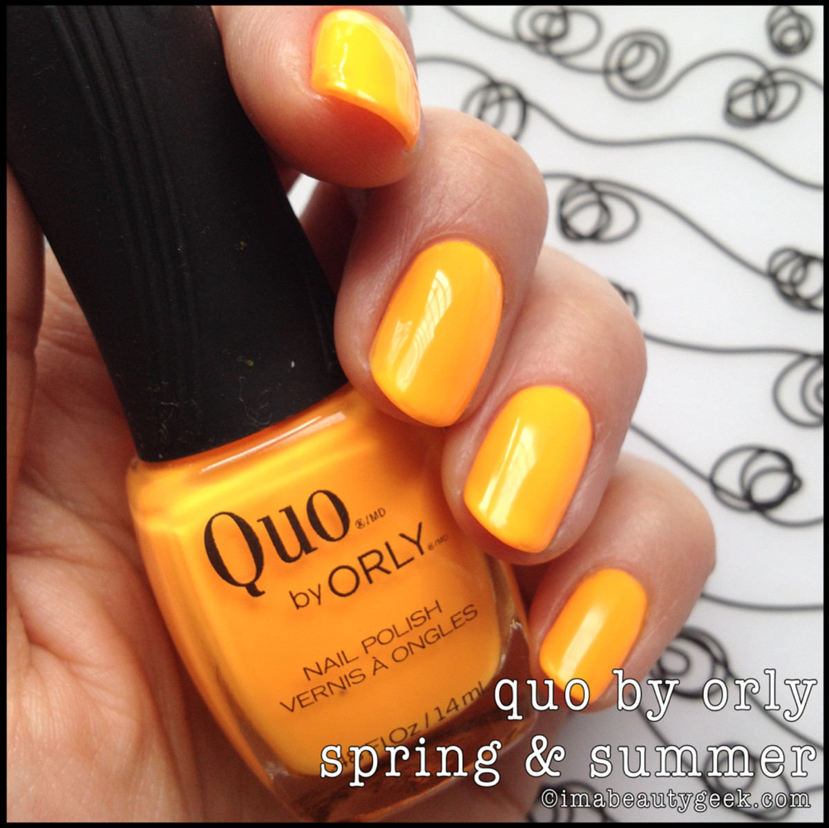 Quo by Orly hot summer shades