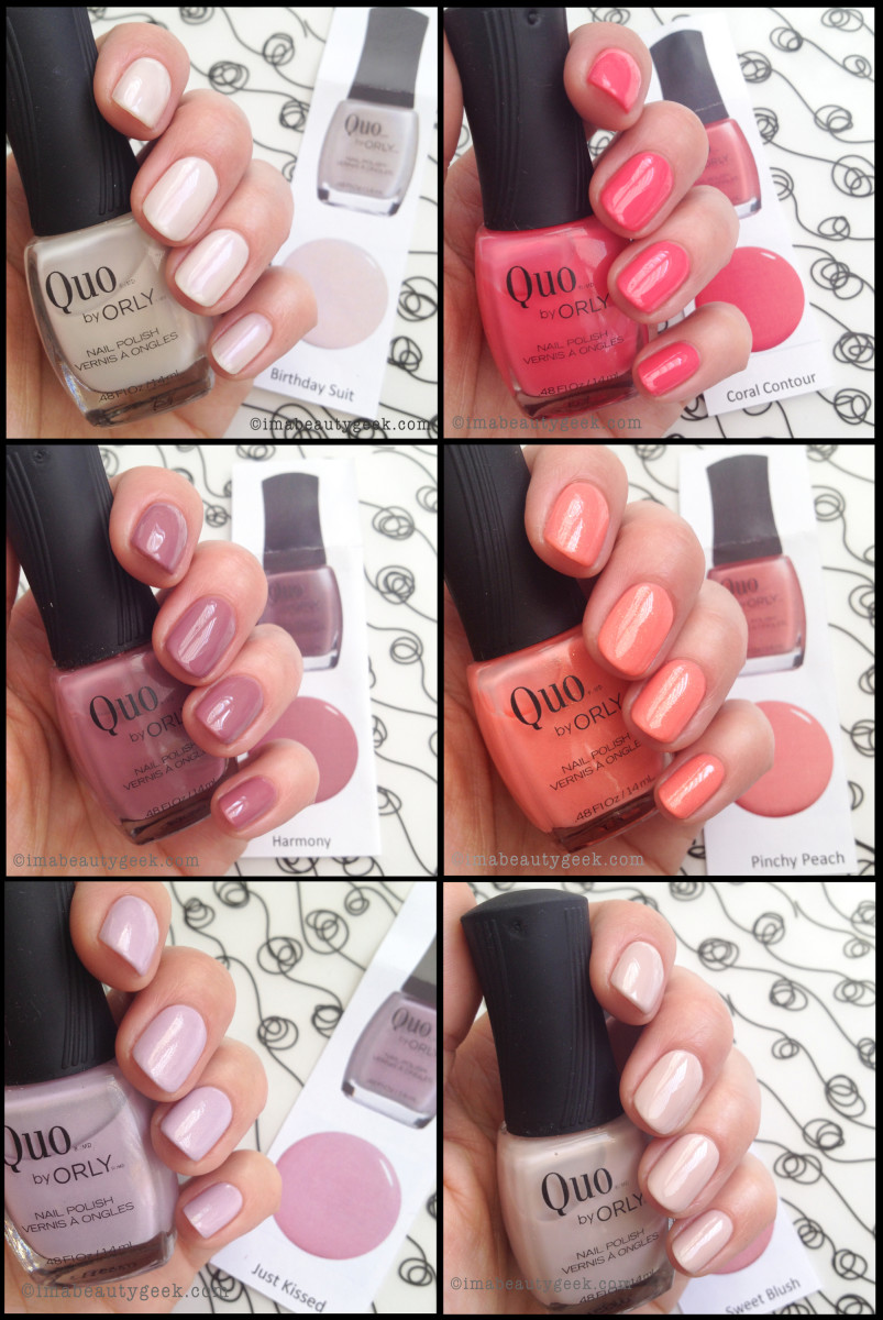 Quo by Orly Spring 2014