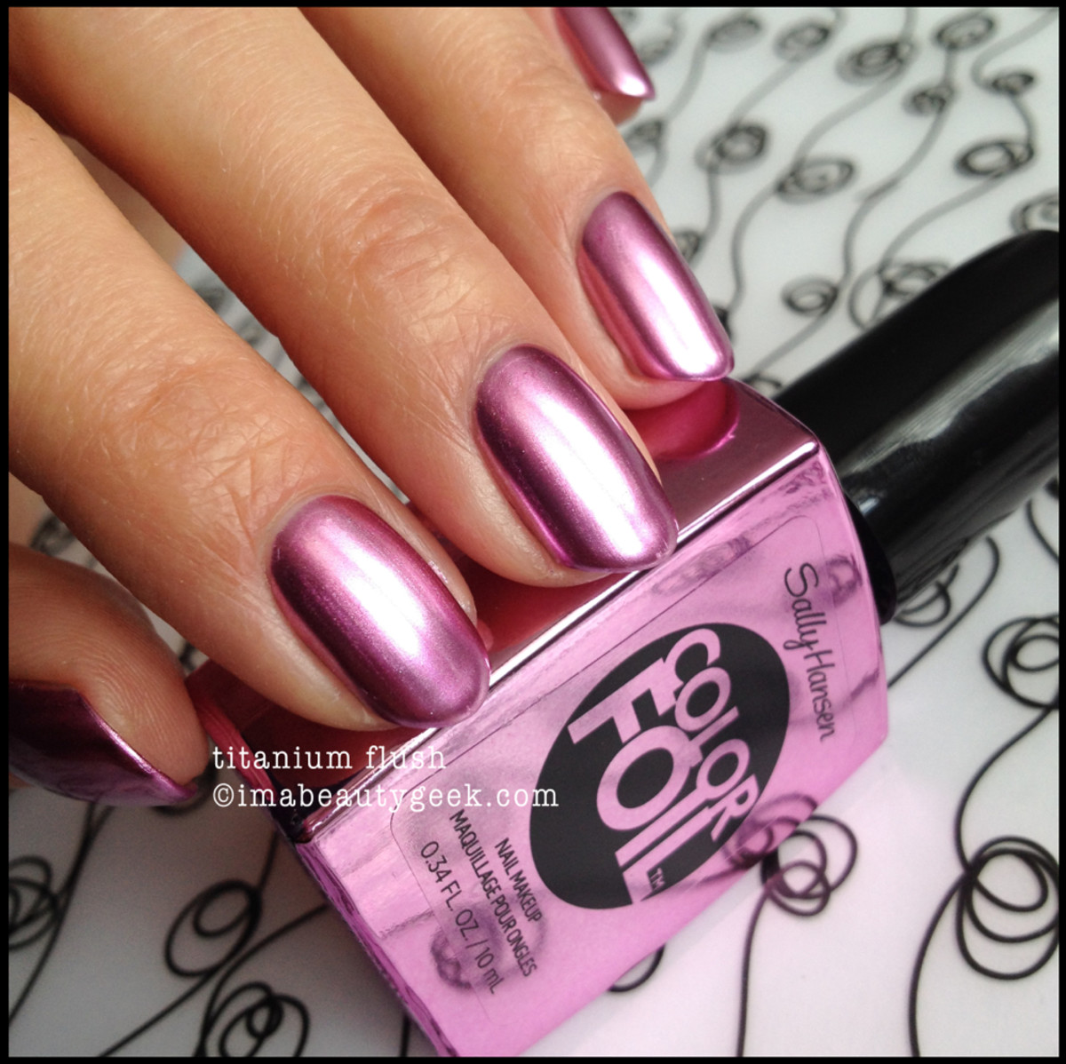 Sally Hansen Color Foil Titanium Flush