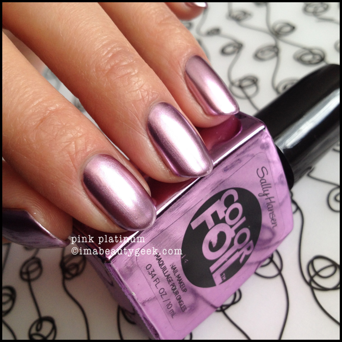 Sally Hansen Color Foil Pink Platinum